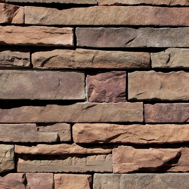 Stacked Stone Veneer : Coronado chablis dry stack stone veneer flats