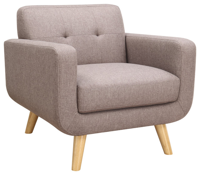 Wiley Accent Chair Brown Scandinavian Armchairs And