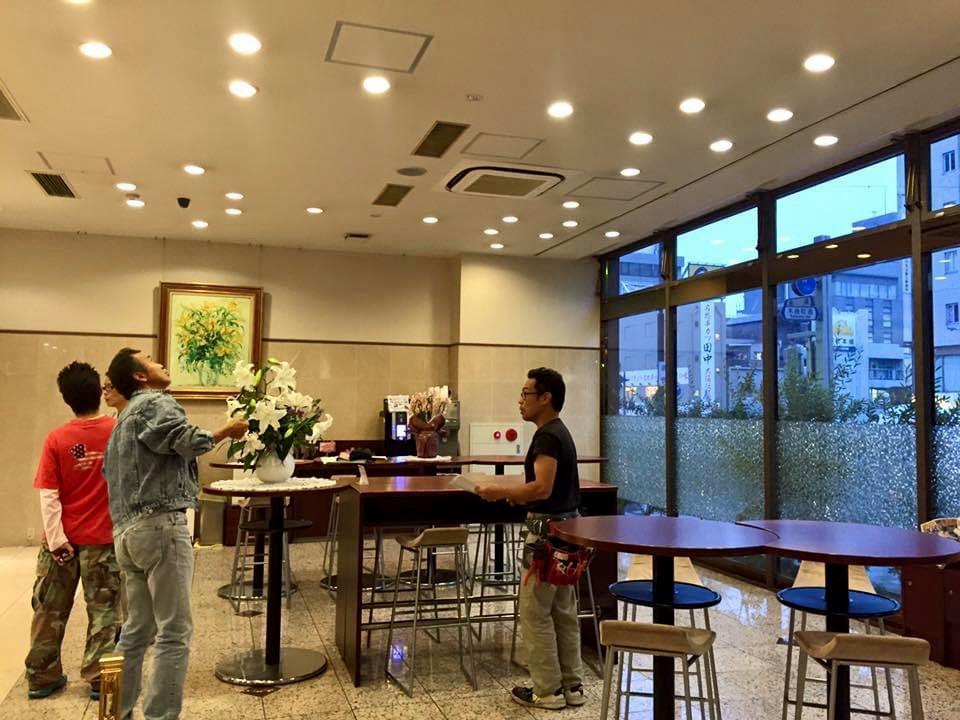 名古屋ビーズホテル 1階メインロビー・ビフォー