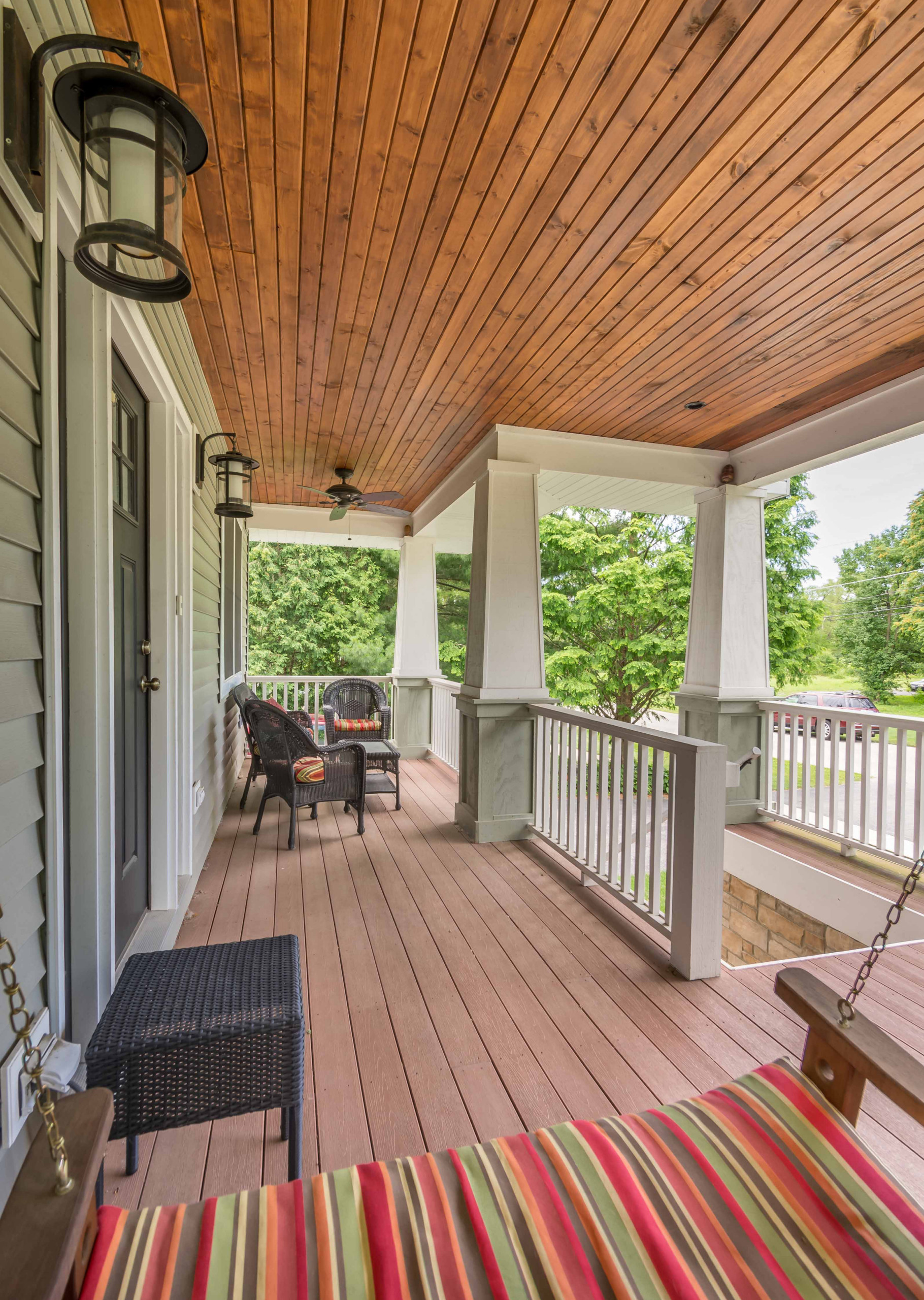 Craftsman Front Porch Addition