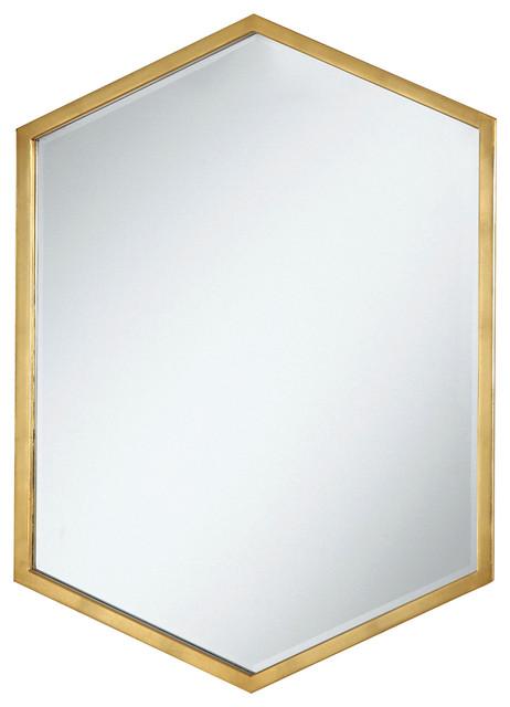 Coaster Mirror, Gold.