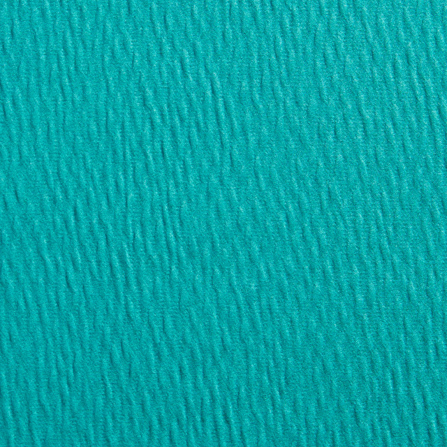 Teal Green Solid Ripple Texture Look Upholstery Fabric By The Yard