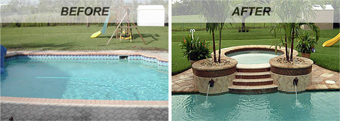 Jacuzzi installation and Pool remodeling in North Hollywood