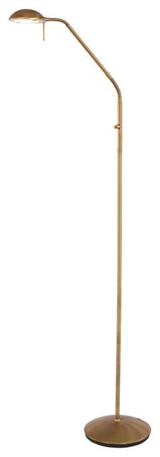 Mexlite Tall Floor Lamp, Bronze