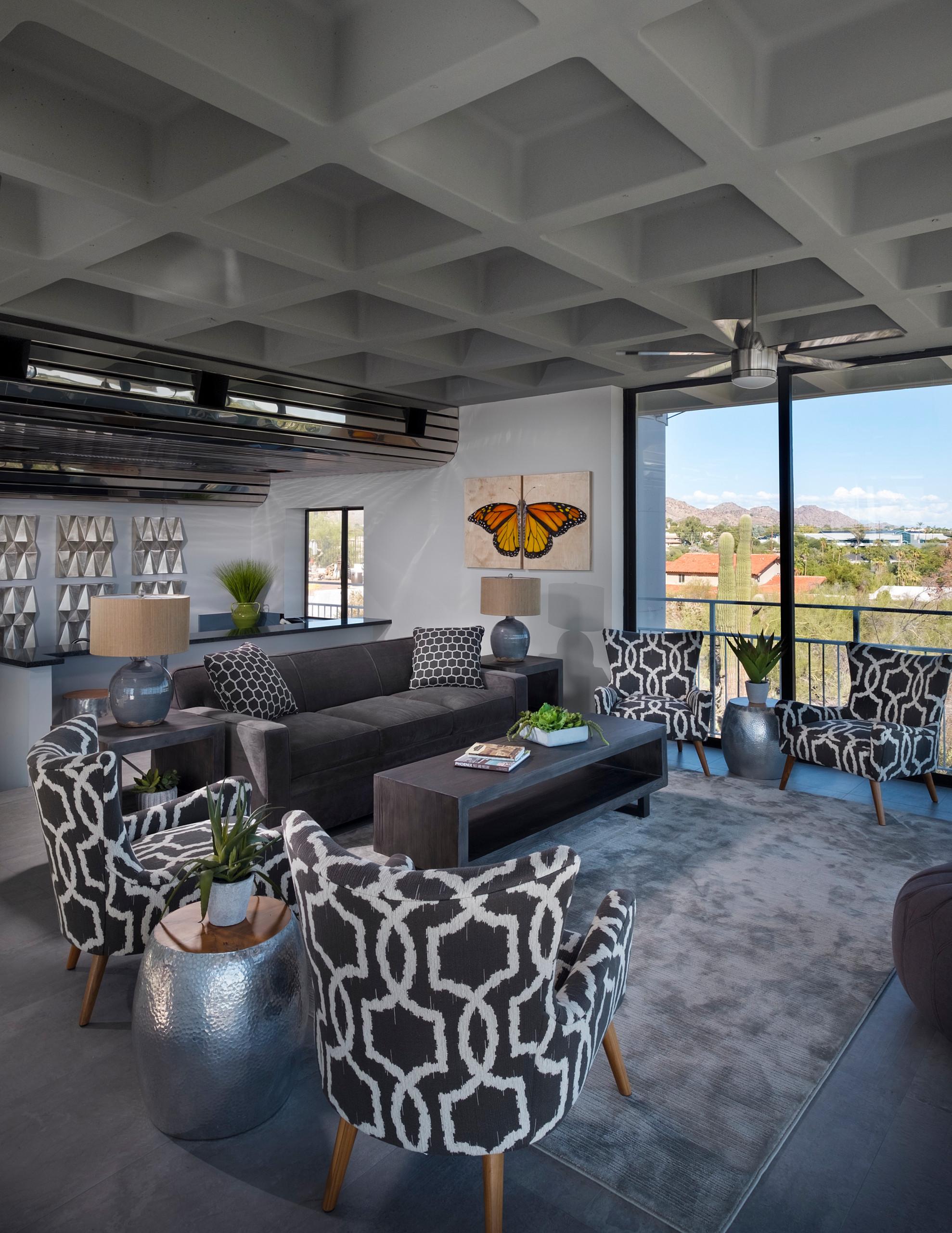Home design - modern home design idea in Phoenix