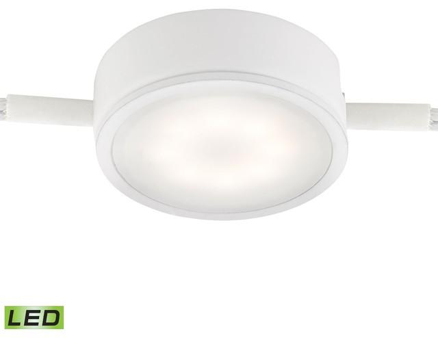 Tuxedo 1-Light Led Undercabinet Light, White