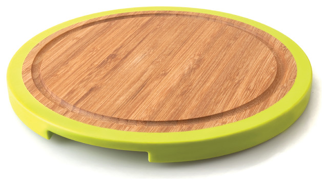 Berghoff Studio Small Round Bamboo Chopping Board View
