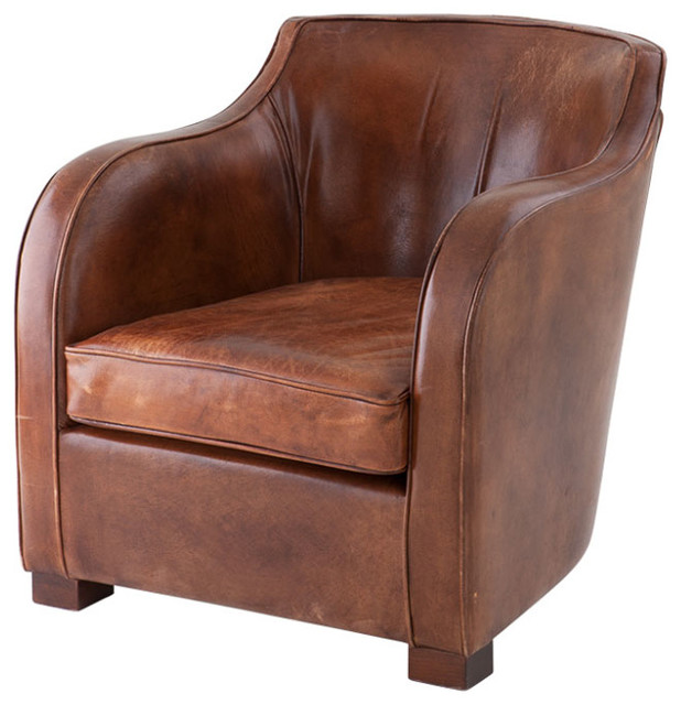 Eichholtz Club Berkshire Leather Chair