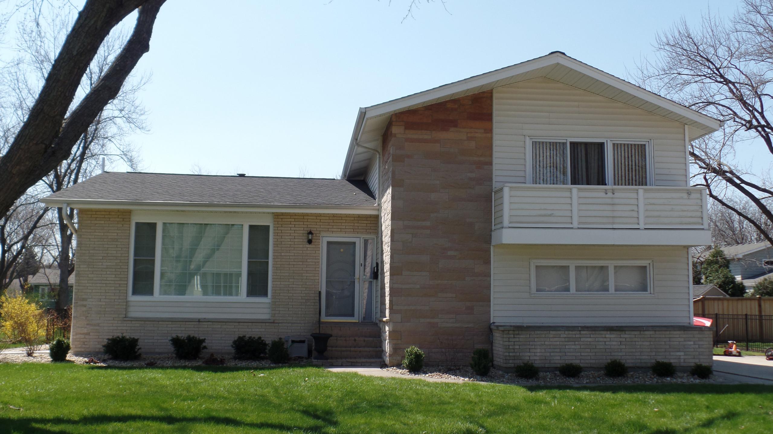 Split-Level Porch & Update - BEFORE