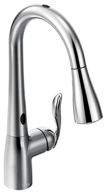 Moen Arbor 1-Handle High Arc Pulldown Kitchen Faucet, Chrome