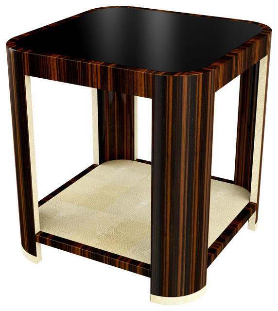 Art Deco Inspired Side Table   Modern   Side Tables And End Tables .
