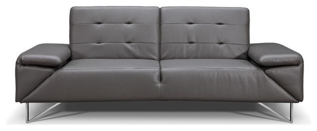 Fine London Faux Leather Sofa Bed Gray Machost Co Dining Chair Design Ideas Machostcouk