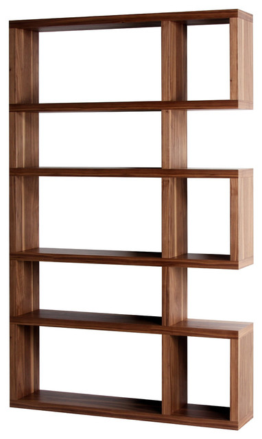 Marcus Natural Walnut Bookcase