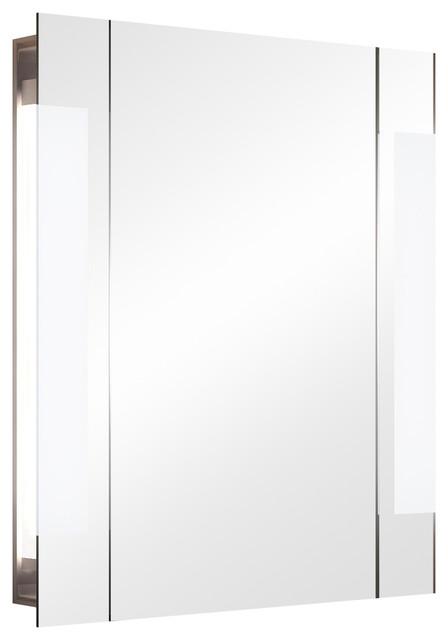 Cent Audio Demister Bathroom Mirror Cabinet, 60x70 cm
