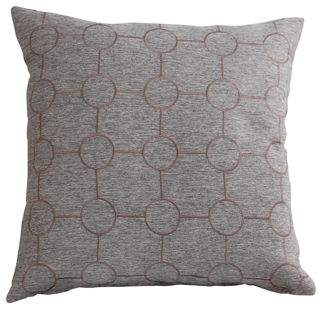Throw Pillows Charcoal : Shop Houzz Trovati Charcoal Pillow - Decorative Pillows