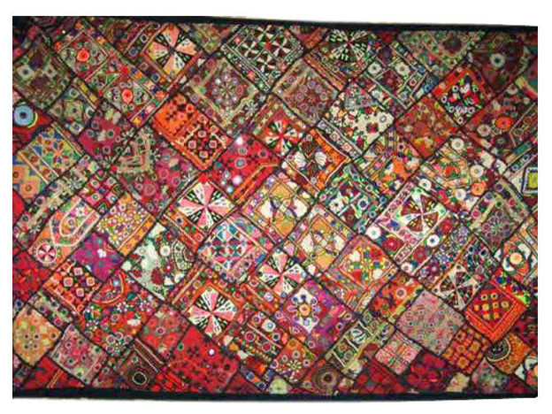 Wall Hanging Tapestry consigned banjara wall hanging tapestry throw kutch embroidery