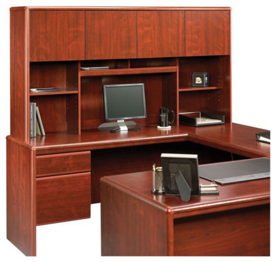 Sauder Cornerstone Hutch For 404379 404380 Desks Classic