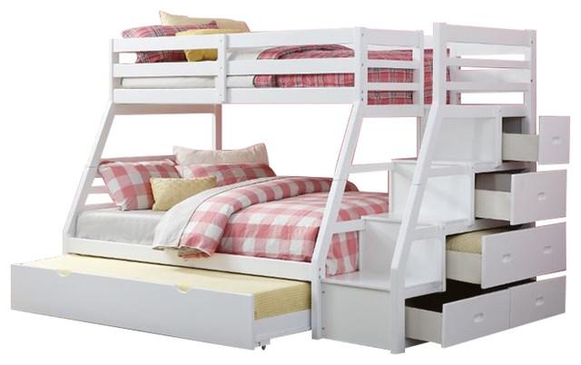Rosebery Kids Twin Over Full Bunk Bed
