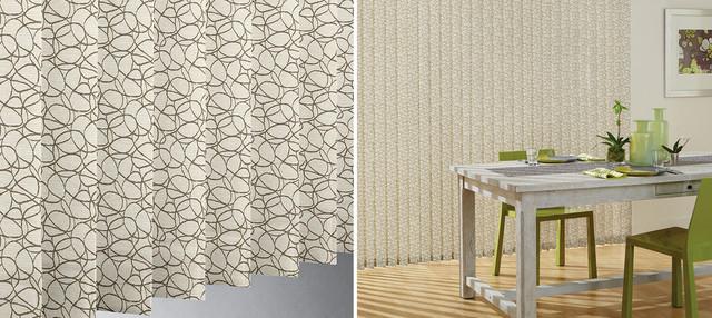 patterned vertical blinds hunter douglas somner vertical. Black Bedroom Furniture Sets. Home Design Ideas