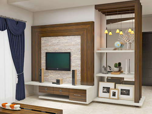 Tv unit designs Home life furniture bangalore