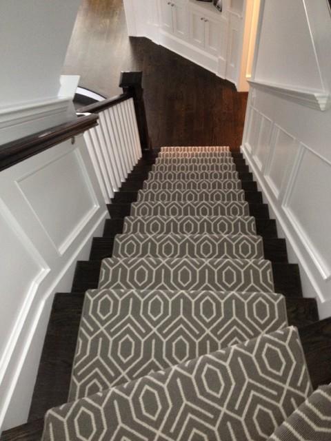 Geometric Stair Runner