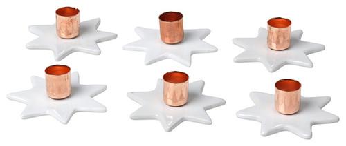 Kerzenständer-Set STARLY, kupfer