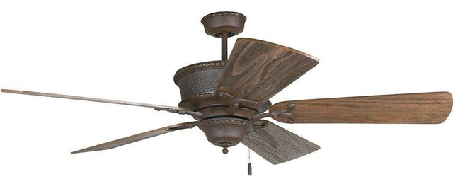 Craftmade Riata 54 Quot Ceiling Fan Pull Chain Traditional