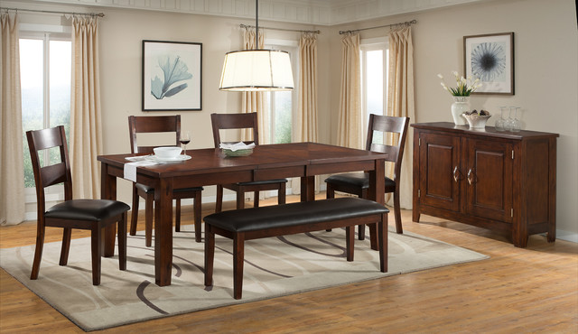 Viola Heights Butterfly Leaf Table Modern Dining