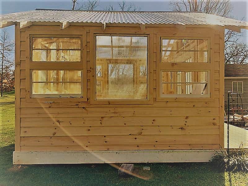 Greenhouse of Reclaimed Windows