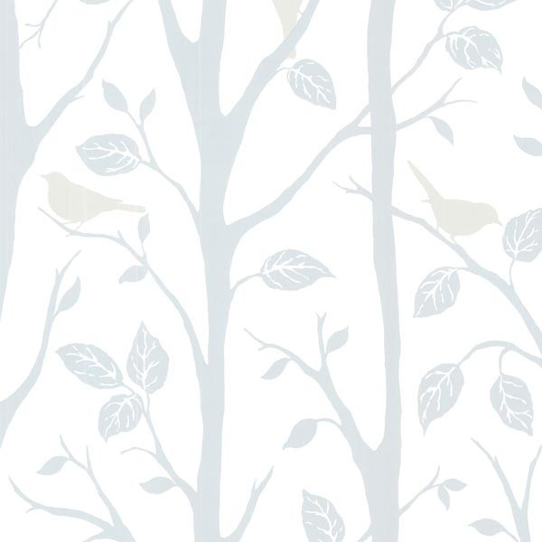 Birds On Branches Wallpaper