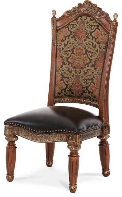 Michael Amini Villa Valencia Side Chairs, Set of 2