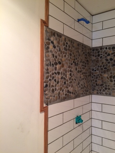 Help On Shower Door Install Uneven Tile