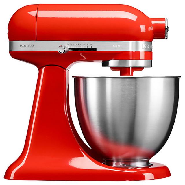 Kitchenaid 5KSM3311 3.3L Mini Stand Mixer, Hot Sauce