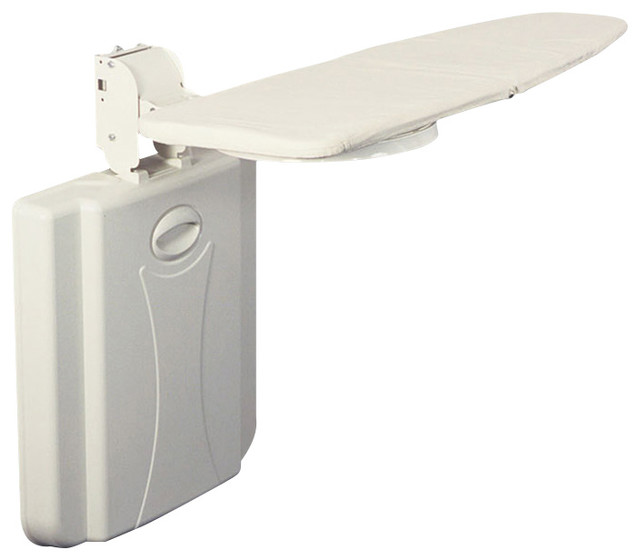 Wall Hanging Ironing Board wall mount ironing board - contemporary - ironing boards -