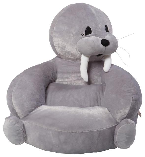 Trend Lab Childrenu0027s Plush Walrus Character Chair