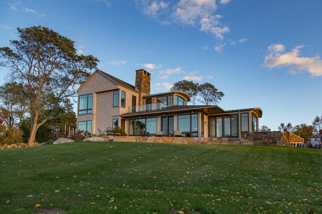 New Home In Gloucester MA Modern Exterior Boston By Eck
