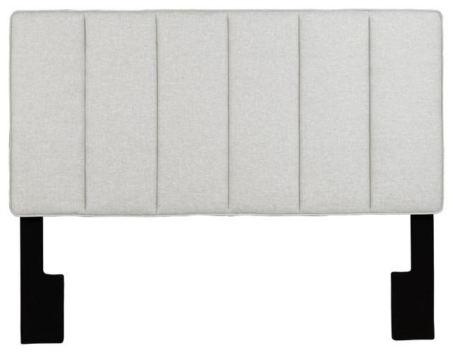 Georgie Upholstered Headboard, Trespass Nature, Full/queen.