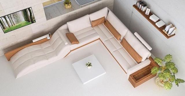 Advanced Adjustable Corner Sectional L Shape Sofa Modern