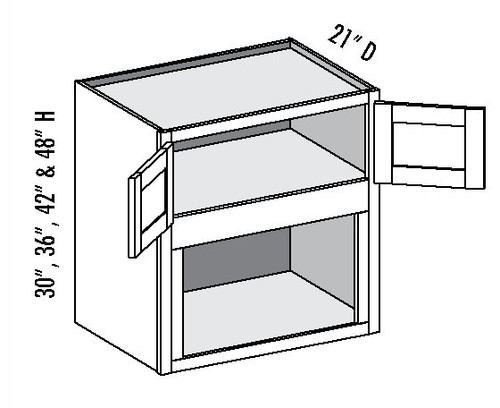 Wall microwave built in or shelf cabinet for Built in microwave cabinet size