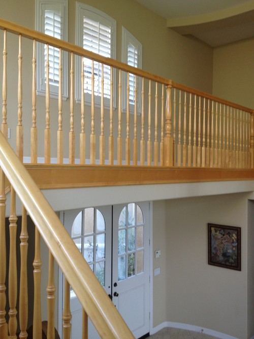 Worth It To Paint My Maple Handrail To Sell Our House?