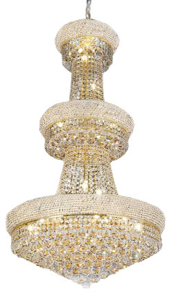 French Empire Crystal Chandelier 24-Light  sc 1 st  Houzz & French Empire Crystal Chandelier 24-Light - Traditional ...