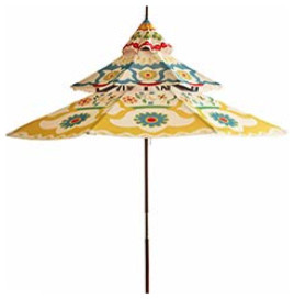 9-Foot Pagoda Umbrella  outdoor umbrellas