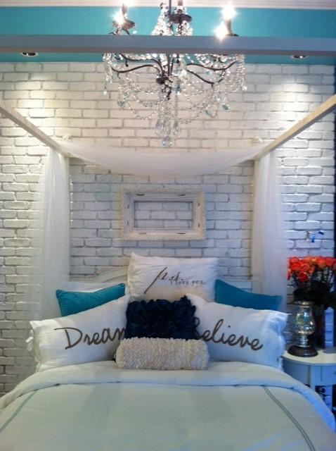 Girly Vintage Teen Bedroom Eclectic Bedroom Las