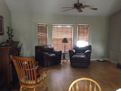 Need Ideas For Small Odd Shaped Living Room