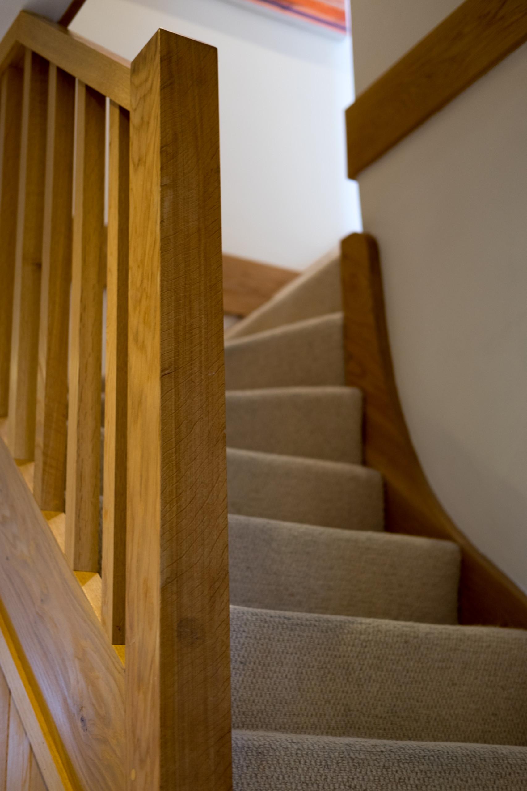 Oak Winding Stair