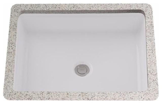 Toto Lt221 Atherton 17 Undermount Bathroom Sink, Cotton.