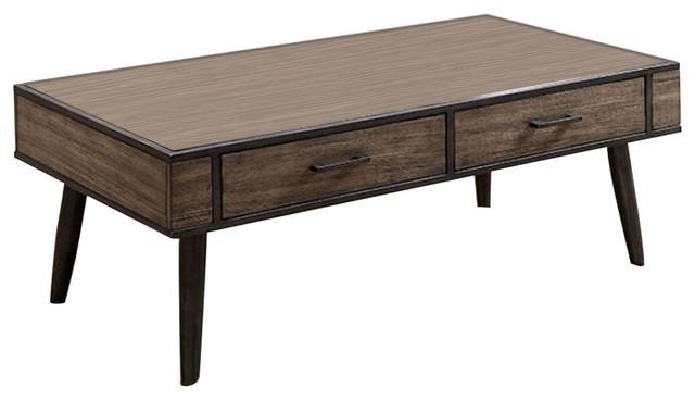 Vilhelm Ii Mid Century Modern Coffee Table Gray Midcentury