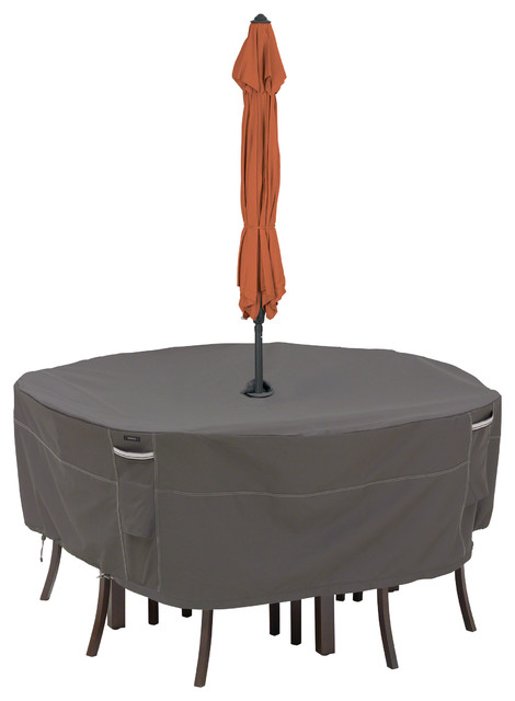 Round Patio Table Chair Set Cover