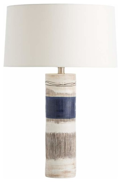Arteriors 11186 934 mariella 1 light table lamp transitional table lamps