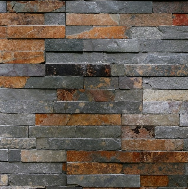 Thin Natural Ledgestone Wall Panel Canyon Rustic Contemporary Siding And Stone Veneer By